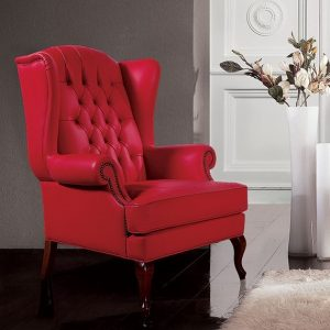 Comfortable armchair for your perfect rest single red color single seater