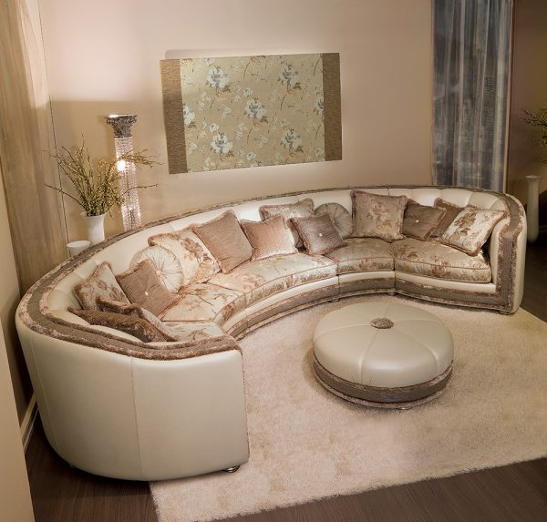 DPV Curvy sofa for corners and face to face chatting space saver
